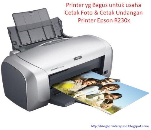 Printer yang bagus untuk usaha cetak foto